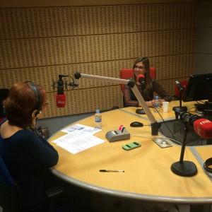 entrevistando a Juani Moral