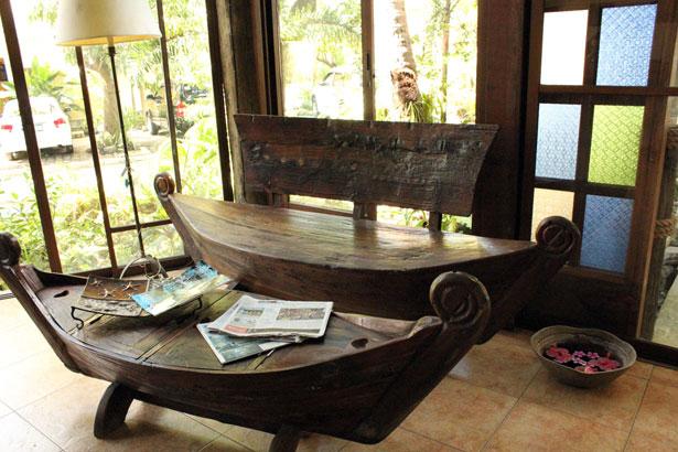 barca reciclada